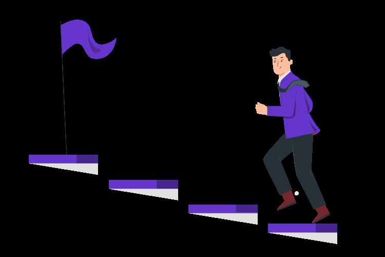 crtez-coveka-kako-koraca-uz-stepenice-predstavljajuci-napredak-ka-cilju