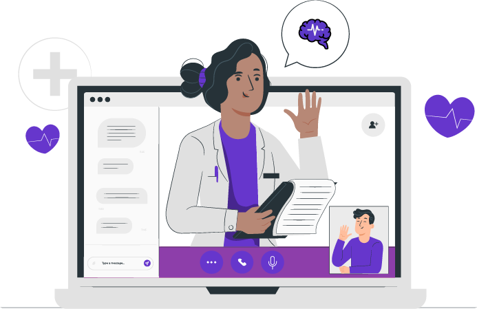 crtez-doktorke-na-laptopu-kako-drzi-online-predavanje-o-epilepsiji